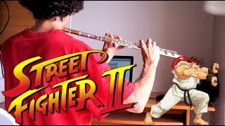 street fighter ii - ryu theme (flute cover)