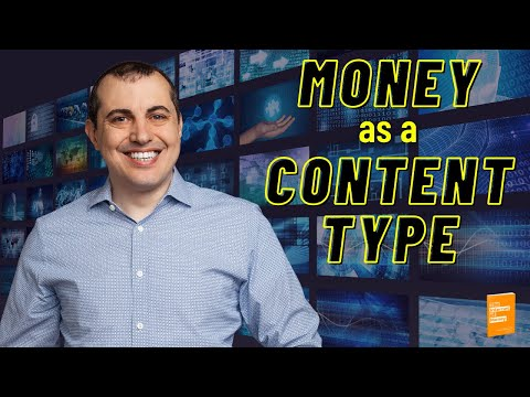 Bitcoin: Money As A Content Type and the Grand Arc of Technology