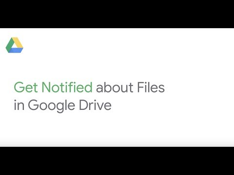 Get notified when a file is shared with you in Google Drive