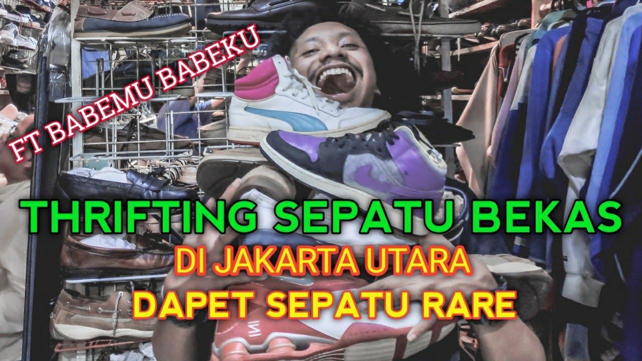 Thrifting Sepatu Bekas Jakarta Ft Babemu Babeku Sepatu Bekas Di