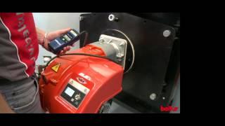 видео Газовые и дизельные горелки RIELLO