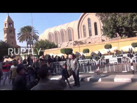 Egypt: Clashes erupt outside Cairo's Coptic Cathedral after deadly bomb attack