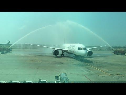 Jun. 9, 2017 加拿大航空復航臺灣 Air Canada service to Taiwan resumed(AC-11/12)