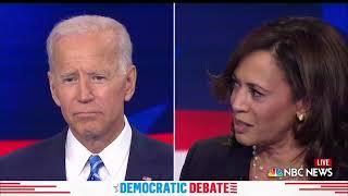 WATCH: 'That little girl was me.' Harris goes after Biden on race | 2019 Democratic Debates