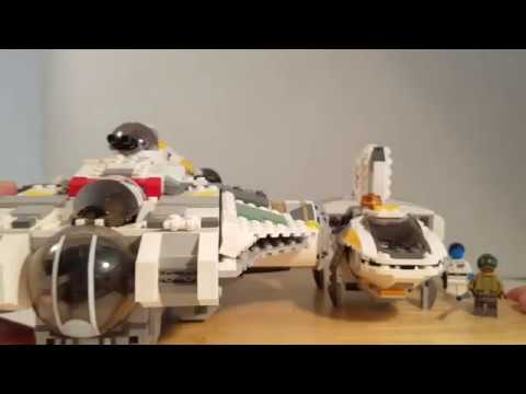 Lego Star Wars Rebels 75170 Phantom V. 2 Review