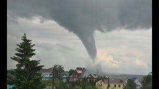 Ураган в Уфе! Штормовое предупреждение. МЧС