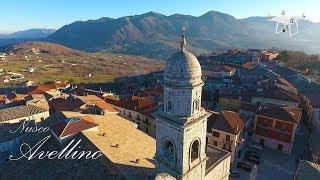 L' accogliente cittadina di Nusco - Il balcone dell'Irpinia - Riprese aeree con il drone