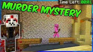 VIIMEINEN SEKUNTI! || Murder Mystery || Minecraft Minipelit