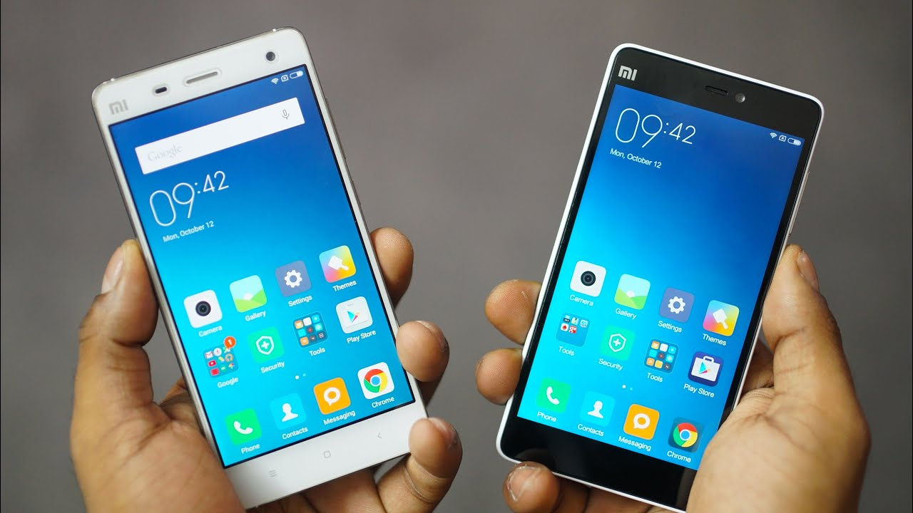 Xiaomi Mi4 vs Mi4C