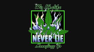 Wiz Khalifa - Never Lie feat.Moneybagg Yo [ Audio]