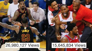 """NBA """"That Went Viral"""" MOMENTS"""