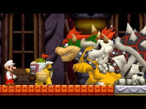 New Super Mario Bros DS Walkthrough - Finale - World 8