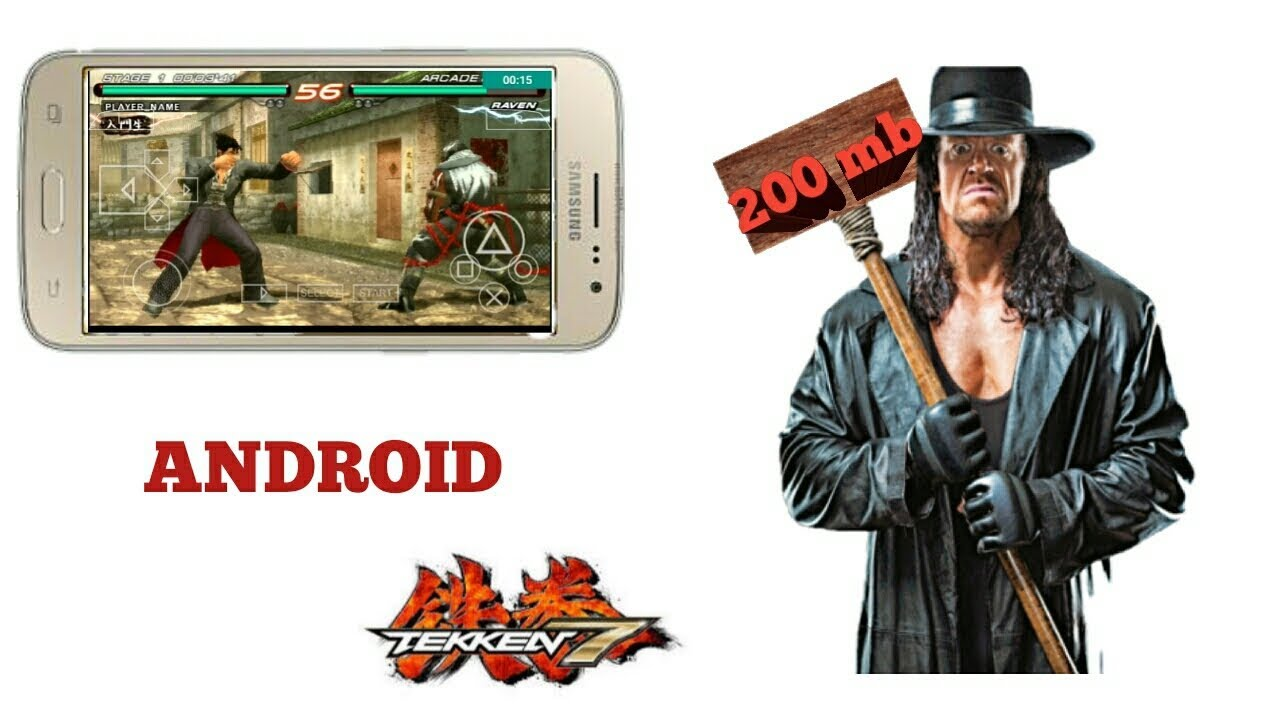 (200)mb highly compressed how to download Tekken 7 for android ppsspp/mod