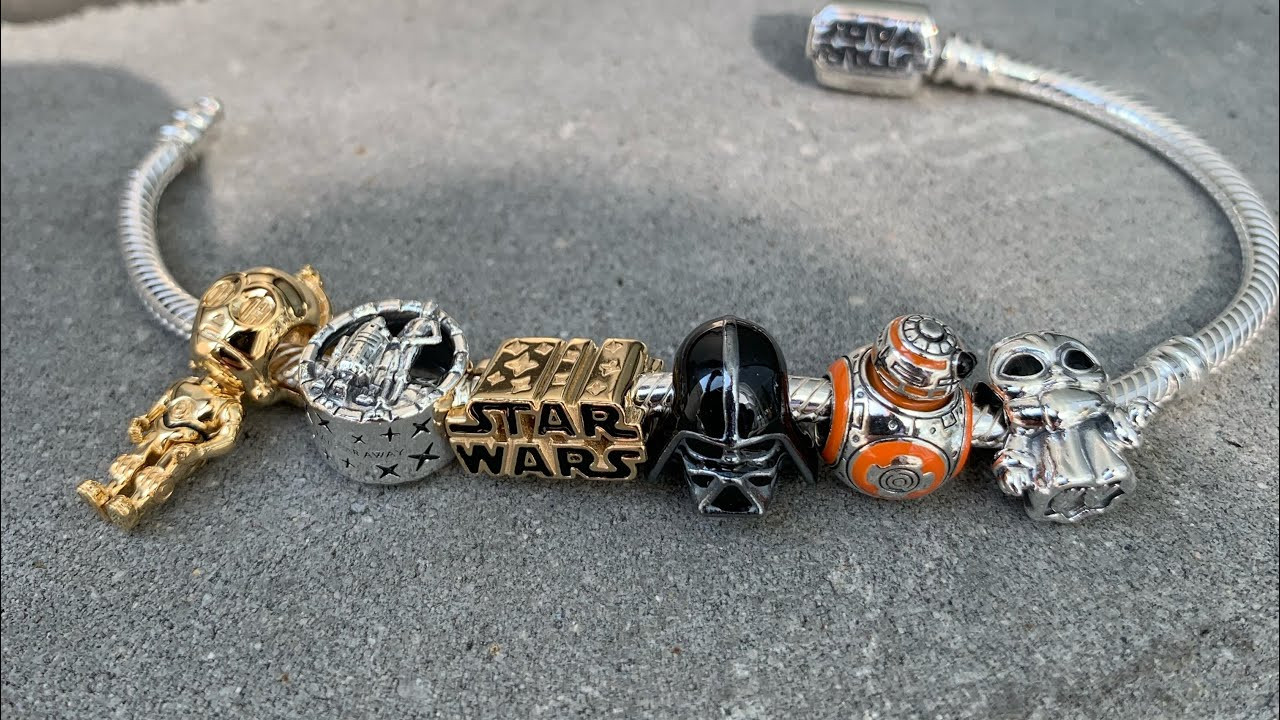 STAR WARS X PANDORA collection - NEW 2020! See the up close!