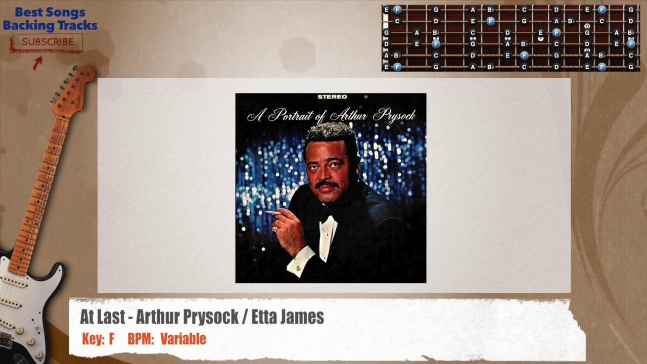 At Last Arthur Prysock Etta James Instrumental Guitar Backing