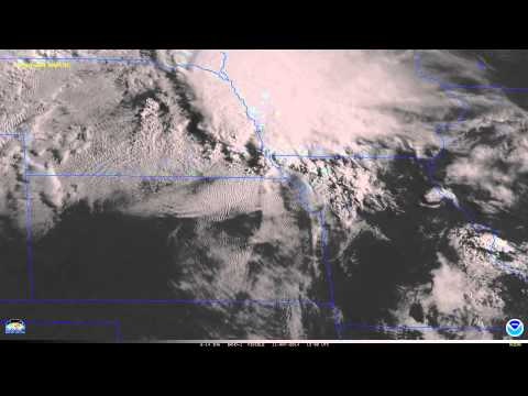 GOES-14 Visible Imagery (1-minute data) over the Great Plains