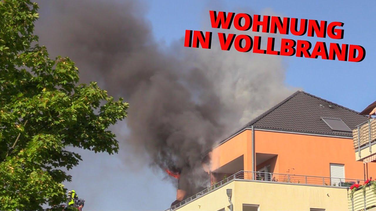 [WOHNUNG IN VOLLBRAND] - Starke Rauchentwicklung | Menschenrettung | Feuerwehr Neuss -