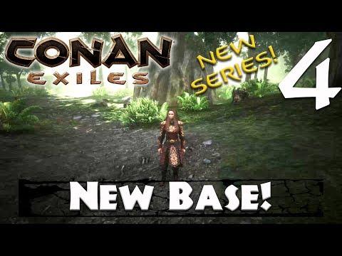 NEW BASE! - Conan Exiles #4 (Season 3)