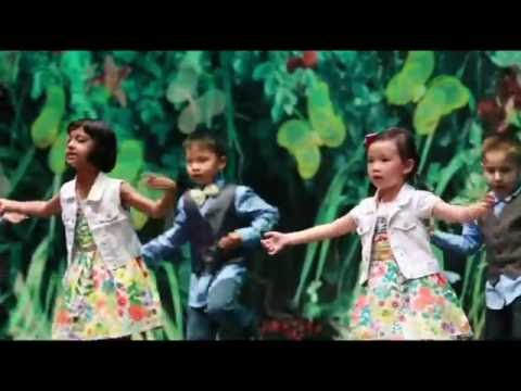 Montessori School House, RC, CA - Kindergarten Class Dance