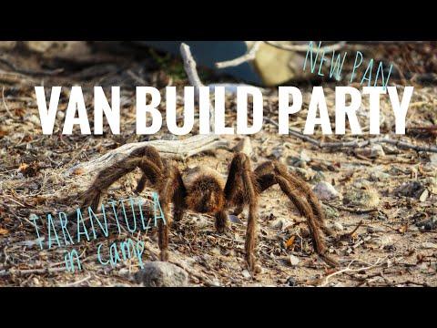 New Cast Iron Pan - Van Build Party | Vanlife Vlog 105