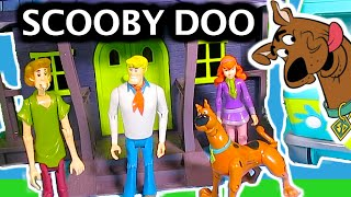 """SCOOBY DOO """"Friends & Foes"""" Action Figure Collection Scooby Doo Toy Video PARODY"""