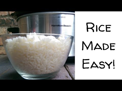 Easy Slow Cooker Rice