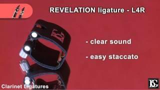 BG Clarinet Ligatures - Metal & Fabric