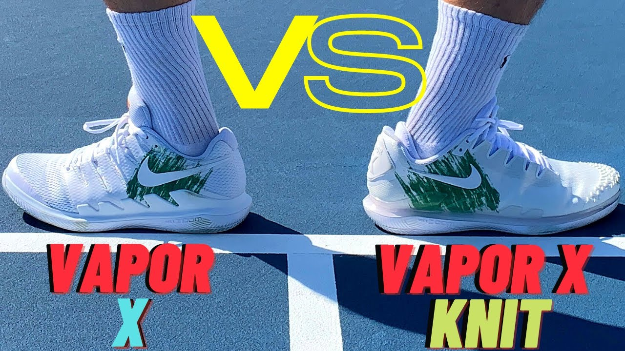 Nike Air Zoom Vapor X Vs Nike Air Zoom Vapor X Knit Foot Doctor Performance Review And Comparison Youtube