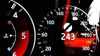 2018 Jaguar XF Sportbrake 30d 0-100 kmh kph 0-60 mph Tachovideo Beschleunigung Acceleration
