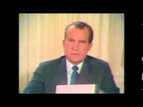 President Nixon Unveils The Family Assistance Program