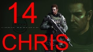 Resident Evil 6 walkthrough - part 14 HD Chris walkthrough gameplay RE6 Full Game walkthrough