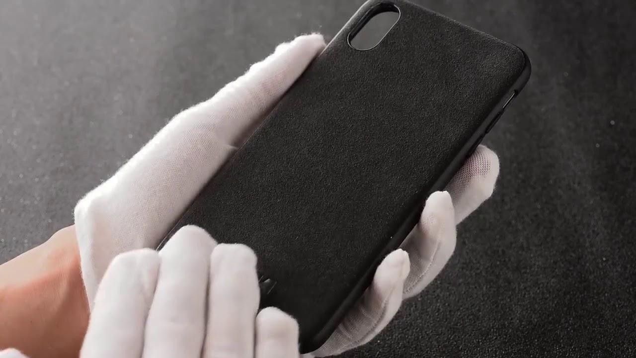 coque alcantara iphone 8 plus