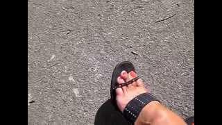 mature feet in mules pov | Maturefeet High Heels