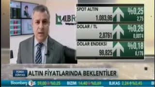 ALB Forex Yatırım Uzmanı Volkan Kuğucuk, altın fiyatlarını yorumluyor. Bloomberg HT