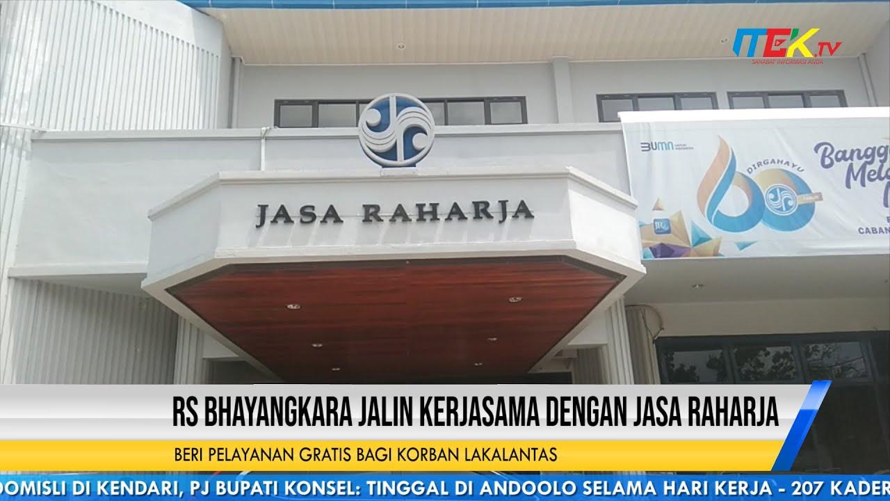 RS Bhayangkara Jalin Kerjasama Dengan Jasa Raharja Beri Pelayanan Gratis Bagi Korban Lakalantas
