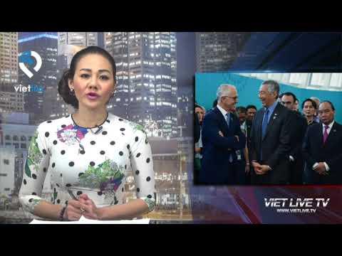 Thủ tướng CSVN Nguyễn Xuân Phúc ngủ gật tại ASEAN-Australia Special Summit