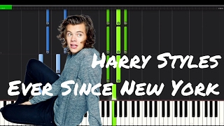 Harry Styles - Ever Since New York Piano Tutorial