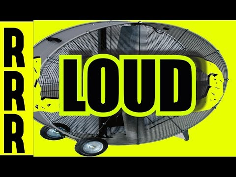 ✪ LARGE LOUD FAN NOISE for SLEEP ✪ 8 Hours of FAN SOUNDS + BLACK SCREEN = FAN NOISE FOR SLEEPING