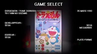 La Bande Animée - Anime Games #37 : Doraemon Sega Megadrive