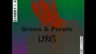 Travis Scott - Green & Purple (Lyrics)