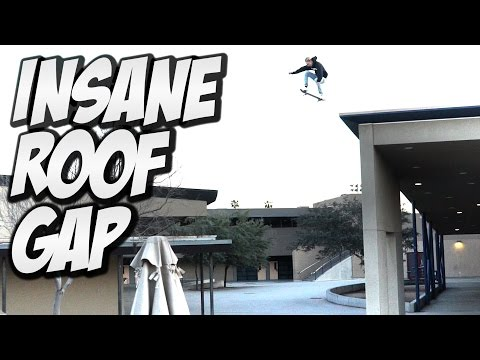 INSANE 40ft  ROOF GAP !!!  A DAY WITH NKA