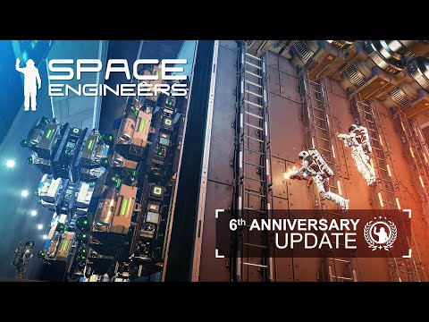 Space Engineers: 6th Anniversary Update & Decorative Pack II