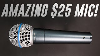Behringer Dynamic BA 85A Mic Review / Test