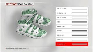 NBA 2K18 Custom Shoe
