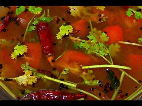 How to make TOMATO CHARU/ SOUP Recipe in Telugu