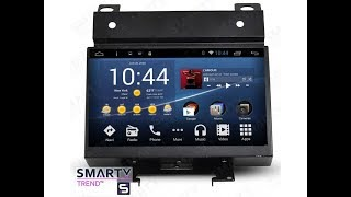 The SMARTY Trend head unit for Land Rover Freelander 2.