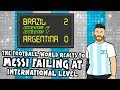 🤣MESSI FAILS AGAIN! FOOTBALL REACTS!🤣 (Brazil 2-0 Argentina Copa America Semi-Final 2019)