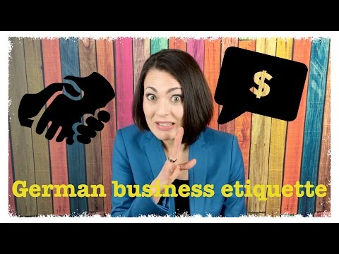 REAL GERMAN FOR BUSINESS TRAVELERS 4 - Guide to Business Meeting Etiquette | #RealGerman