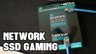 Gaming on a Network SSD