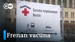Alemania suspende uso de AstraZeneca